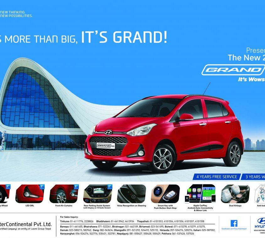 Hyundai Grand new i10